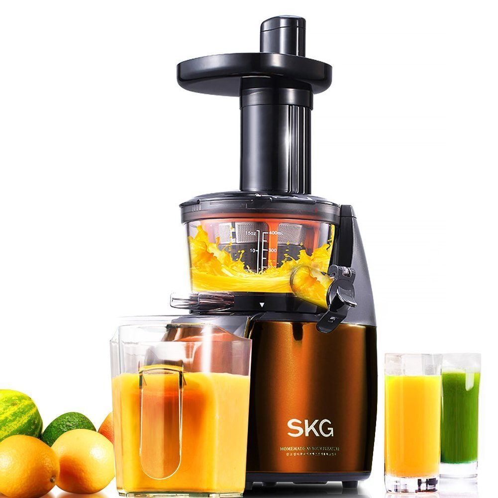 SKG Premium 2-in-1 Anti- Oxidation Slow Masticating Juicer