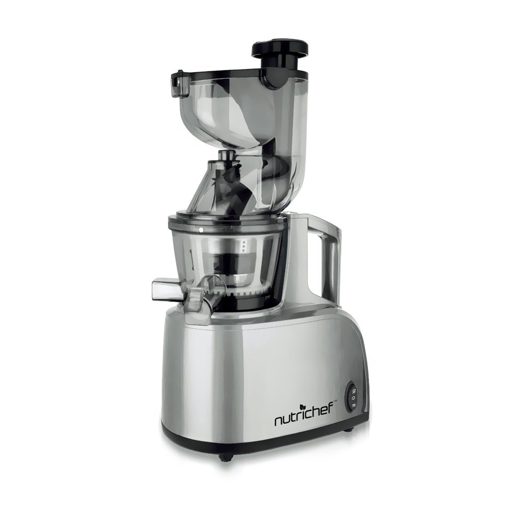 Nutrichef Slow Juicer Review : Nutrichef PKSJ40 Countertop Masticating Slow Juicer Review