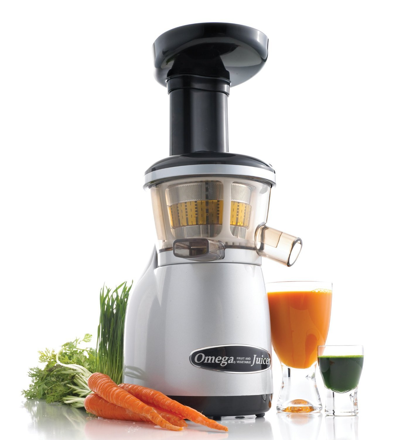 Omega Juicers VRT350X Heavy Duty Dual-Stage Vertical Single-Auger Low-Speed Juicer