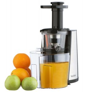 Vonshef 150W Slow Masticating Single Auger Juicer Review