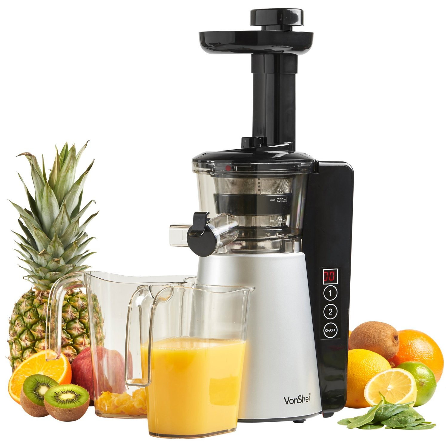 Vonshef Digital Slow Masticating Juicer Review
